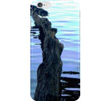 Reflections and waves iPhone Case/Skin
