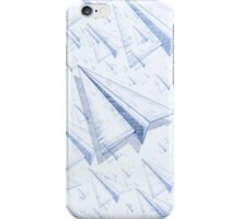 Paper Airplane 100 iPhone Case/Skin