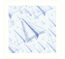 Paper Airplane 100 Art Print