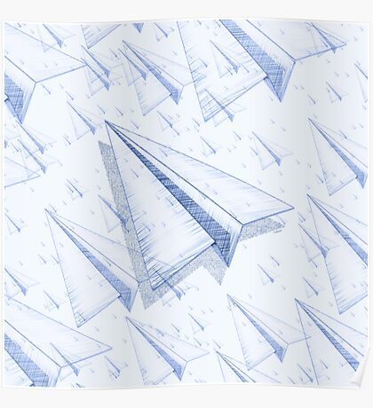 Paper Airplane 100 Poster