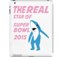 Super Bowl Star The Shark iPad Case/Skin
