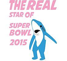 Super Bowl Star The Shark Photographic Print