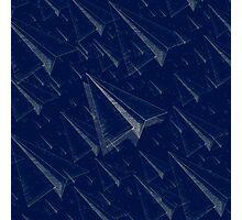 Paper Airplane 101 Photographic Print