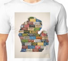 Great Plate State  Lower Peninsula Unisex T-Shirt