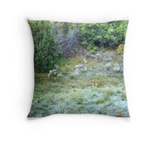 Mo Wampa pics Throw Pillow