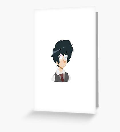 Ken Kaneki Greeting Card