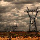 Powerlines by Jeniella Goci