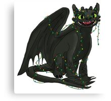 Toothless Tangled Canvas Print