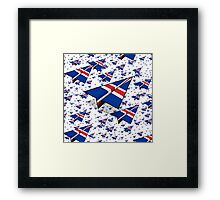 Paper Airplane 102 Framed Print