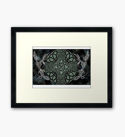 Celestial Dragons Framed Print