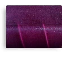 Purple Ice Canvas Print