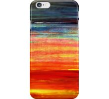 Colorful Abstract Painting Original Art Titled: Under the Skin iPhone Case/Skin