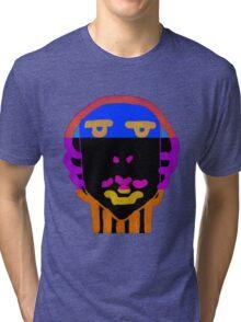 vivid face Tri-blend T-Shirt