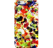 Colorful Abstract Painting Original Art on Canvas Titled: Painting Dance Party iPhone Case/Skin