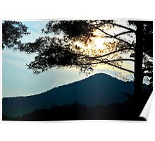 sunrise in the great smoky mountains Poster