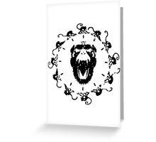 Army of the Twelve monkeys Greeting Card