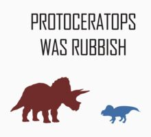 Protoceratops was rubbish Kids Clothes