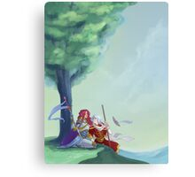 Warrior and Wizard Homecoming Canvas Print