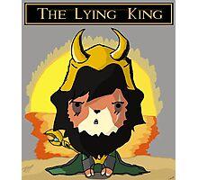 Lying King Photographic Print