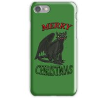 Toothless - Merry Christmas iPhone Case/Skin