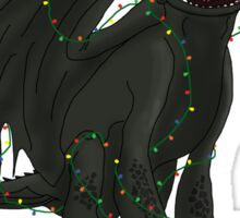 Toothless - Merry Christmas Sticker