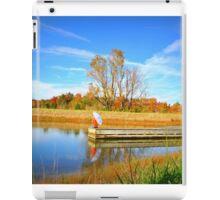 peace on the lake iPad Case/Skin