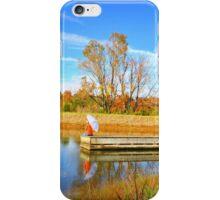 peace on the lake iPhone Case/Skin