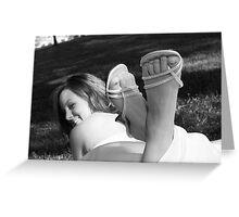 Toe Teasing Greeting Card