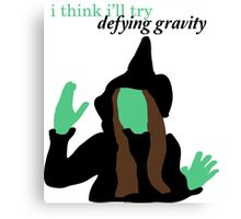 Elphaba Wicked: Defying Gravity Canvas Print