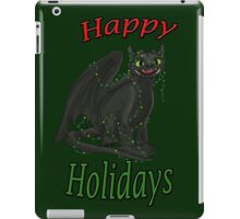 Toothless - Happy Holidays iPad Case/Skin