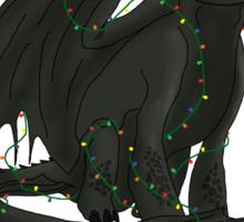 Toothless - Happy Holidays Sticker