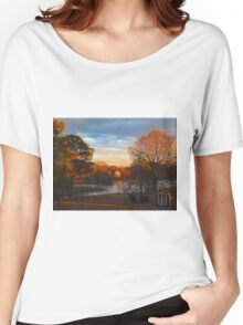 Late Afternoon Along the Creek  (1502026106VA) Women's Relaxed Fit T-Shirt