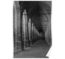 Arches at L' Agenzia di Pollenzo Poster