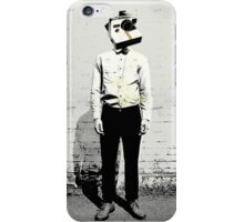 Polaroid Man iPhone Case/Skin