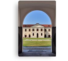 University of Gastronomic Sciences at Pollenzo Italy Canvas Print