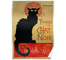 'Tournee du Chat Noir' by Theophile Steinlen (Reproduction) Poster
