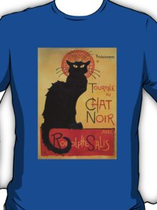 'Tournee du Chat Noir' by Theophile Steinlen (Reproduction) T-Shirt