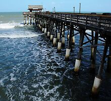 Cocoa Beach Pier by Debbie Oppermann