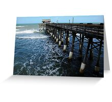 Cocoa Beach Pier Greeting Card