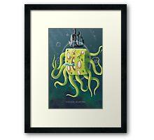 SpongeGod ElderPants Framed Print
