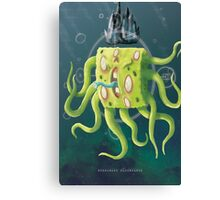 SpongeGod ElderPants Canvas Print
