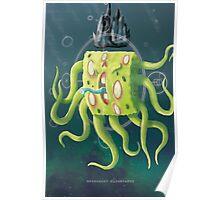 SpongeGod ElderPants Poster