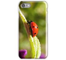 Ladybug, ladybug, fly away home... iPhone Case/Skin
