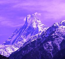 Sacred Mountain, Himalayas, Nepal by aidan  moran