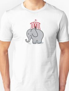 Circus Elephant Unisex T-Shirt
