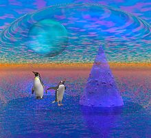 Penguin land by toots