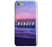 The Wanderlust Is Real  iPhone Case/Skin