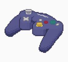 Pixel Gamecube Controller by Jackapedia