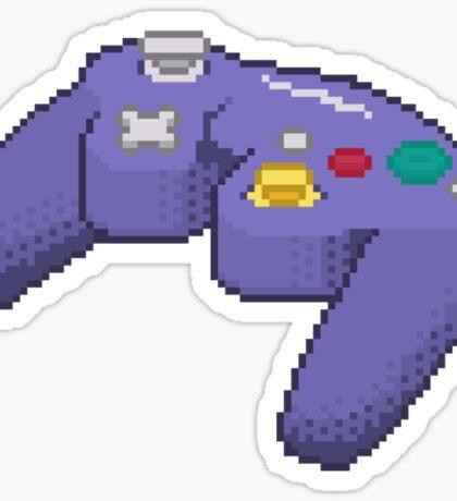 Pixel Gamecube Controller Sticker