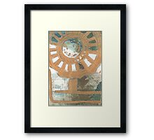 Flower Wheel Framed Print
